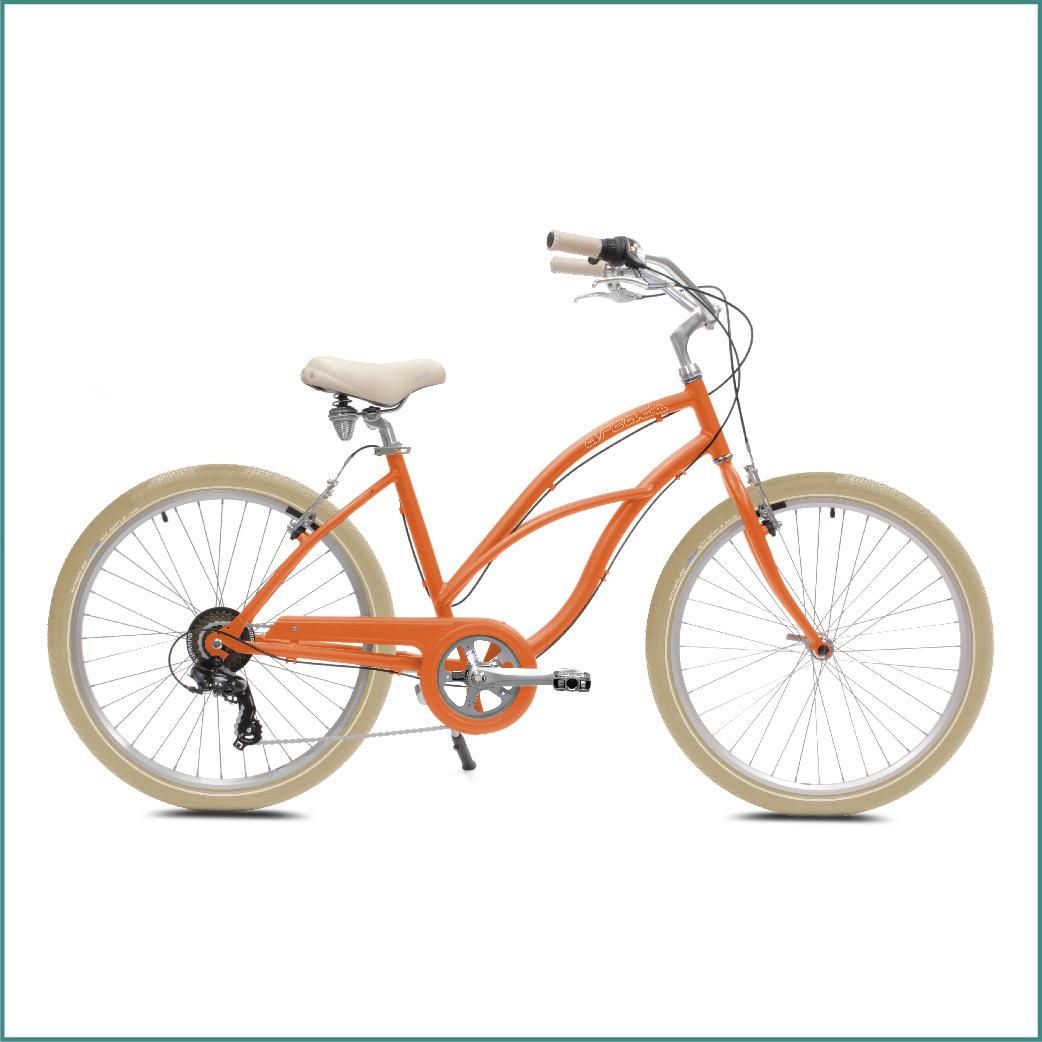 Vélo Arcade Coaster Femme Orange
