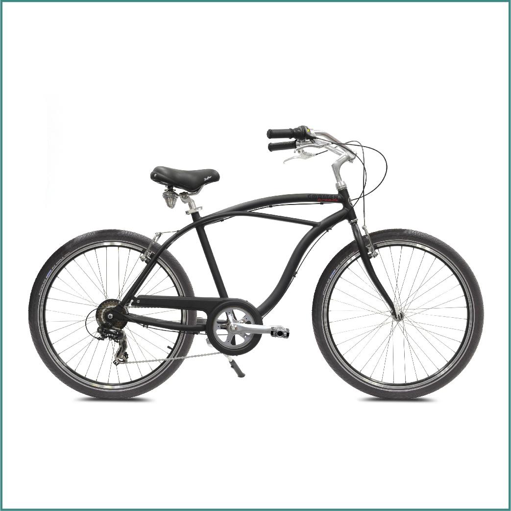 Vélo Arcade Coaster Homme Noir