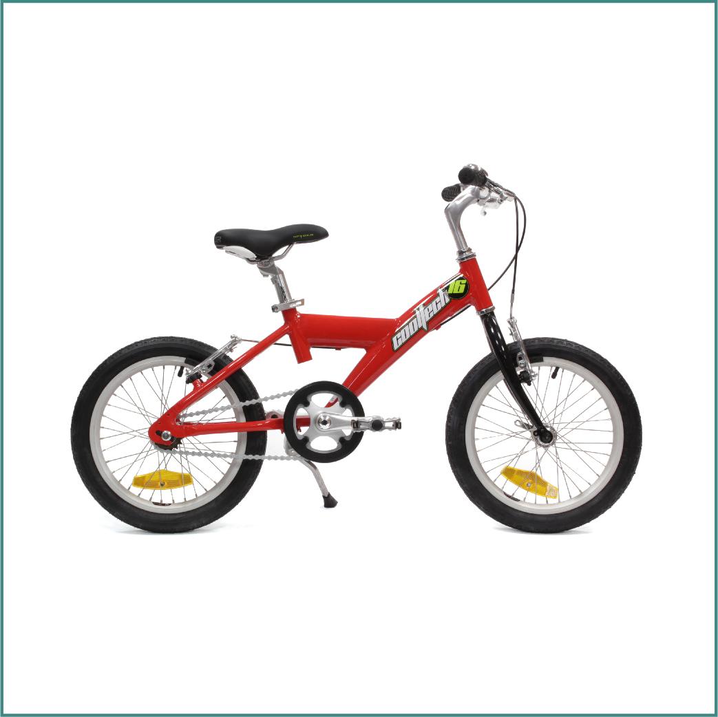 Vélo Arcade Cooltech 16 Enfant Rouge