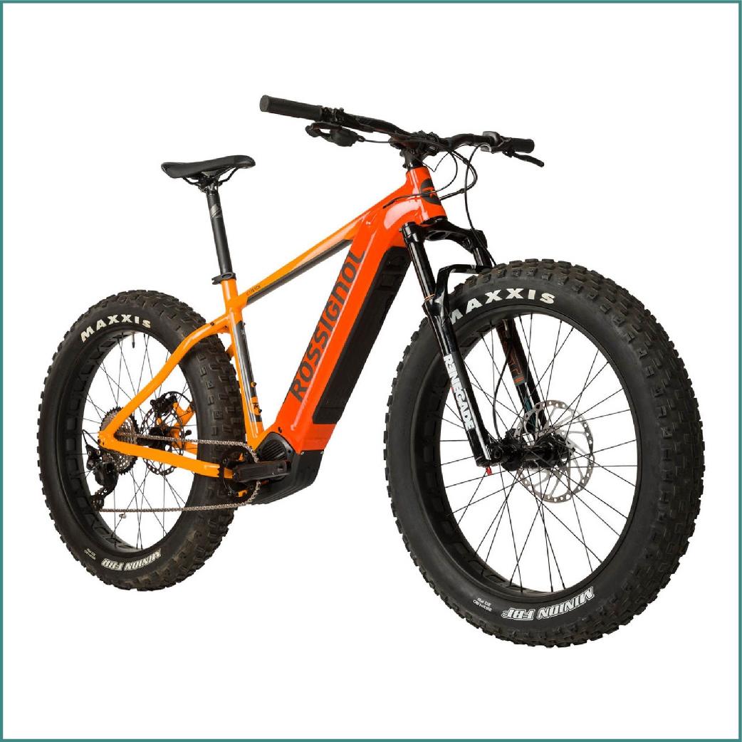 Vélo Fat E Track Rossignol Orange